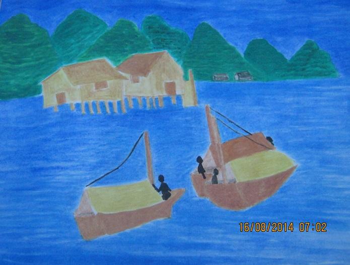 house lake boats 2  16.8.14