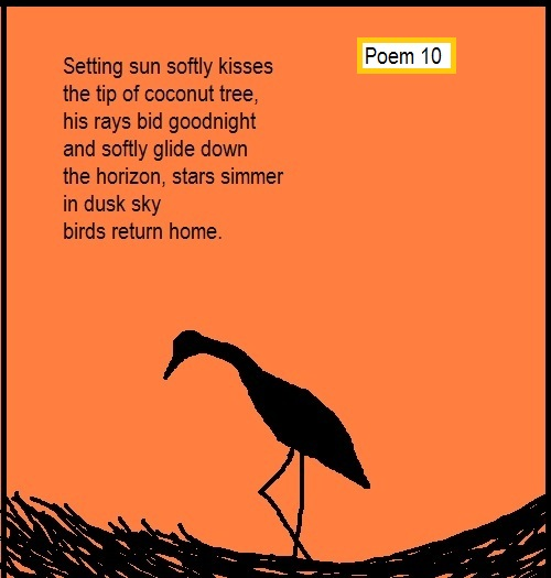 poem 10 english